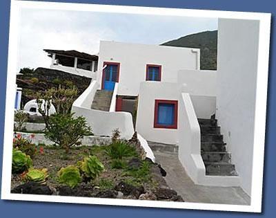 Apartamento con jardín en Ginostra - stromboli