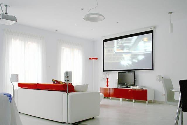 Moderno loft junto Niemeyer - El encanto de Avilés