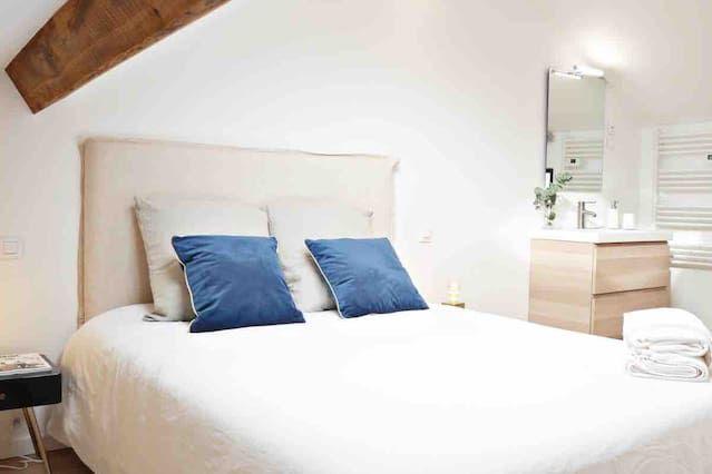 Chaleureux appartement de 3 chambres