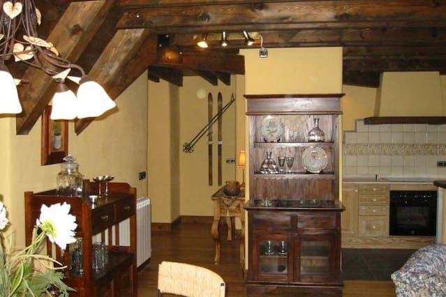 Ferienunterkunft in Vilac, valle de aran, baqueira mit 3 Zimmern
