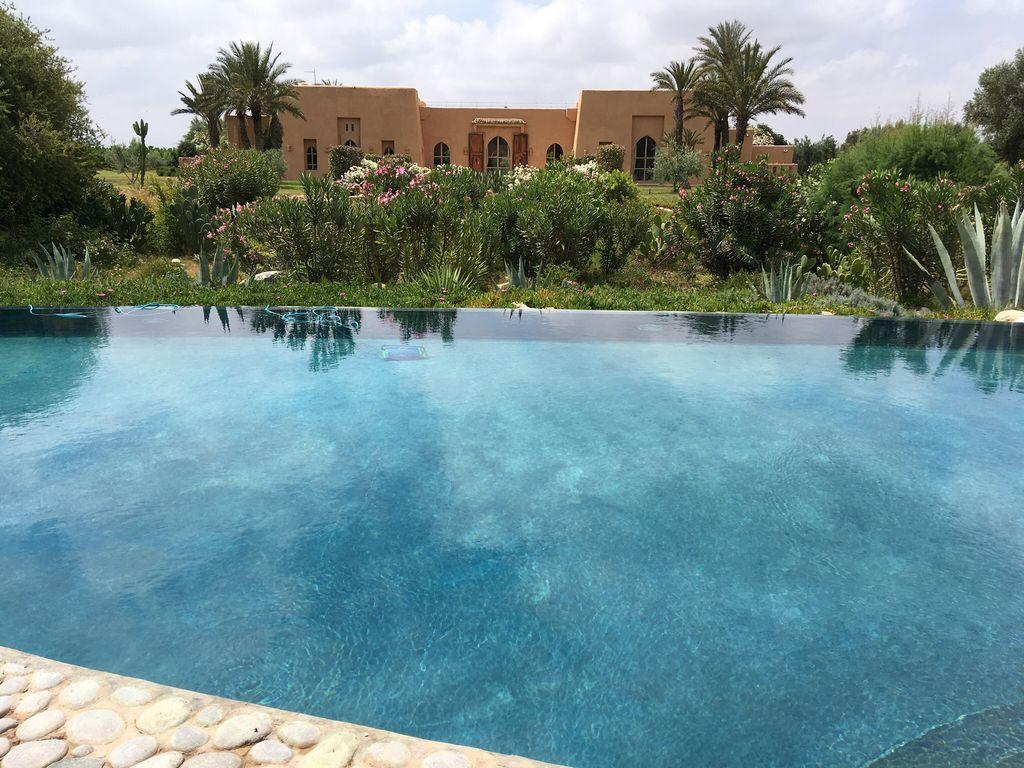 Vivienda con piscina en Taroudant