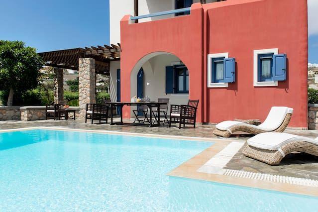 Interesante apartamento en Santorini