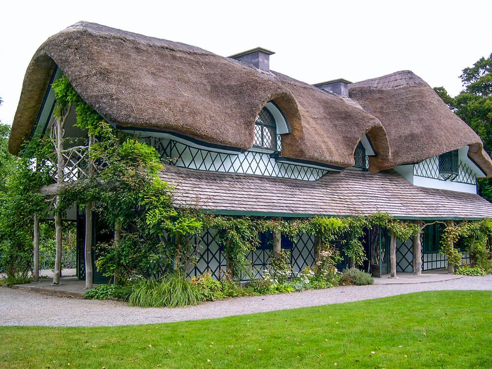 Maison traditionnelle irlandaise