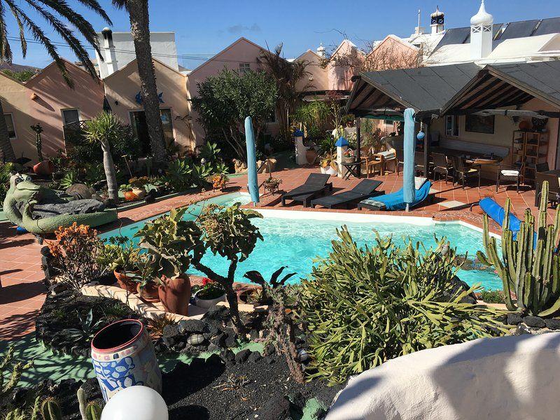 Ausgestattete Ferienunterkunft mit Garten
