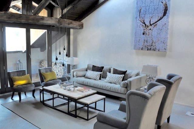 De lujo de 5 dormitorios en Claviere - verano maravilloso y Winter / pista de esquí