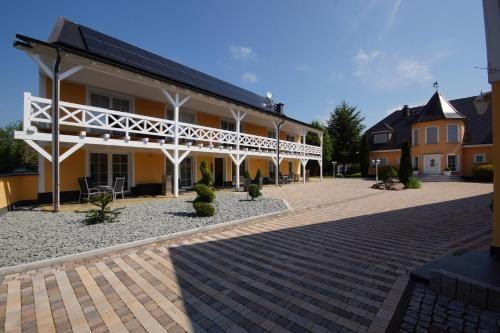 Panorama Ferienunterkunft in Schönebeck