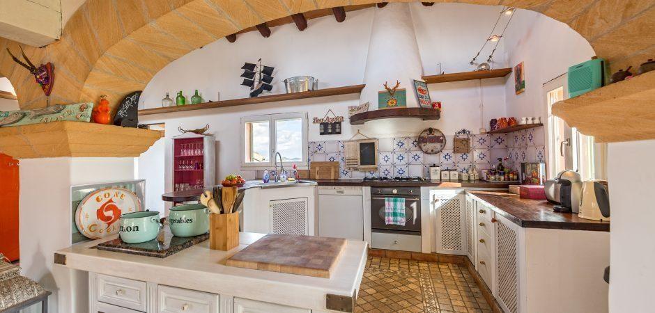 Encantadora casa de campo para 6 a 8 personas en el hermoso paisaje