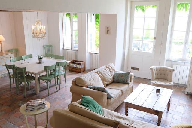 Casa estupenda para 10 huéspedes