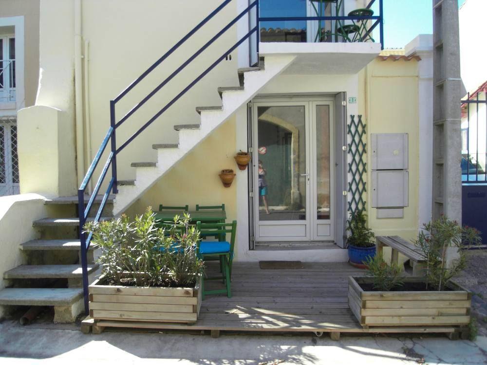 Apartamento de 30 m² con jardín