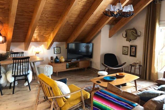 Idílico piso vacacional con  TV por cable en Formigal