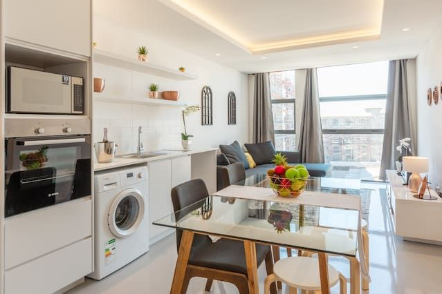 Flat with wi-fi and 1 room