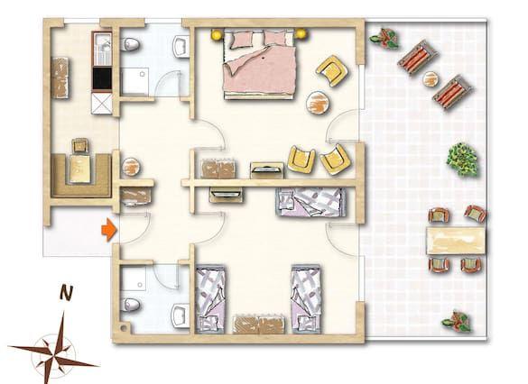 Alojamiento de 2 habitaciones en Titisee-neustadt