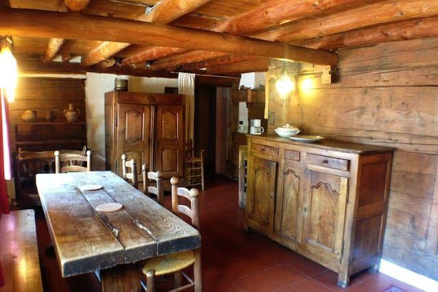 casa de montaña (madera / piedra) - Les Houches-Chamonix