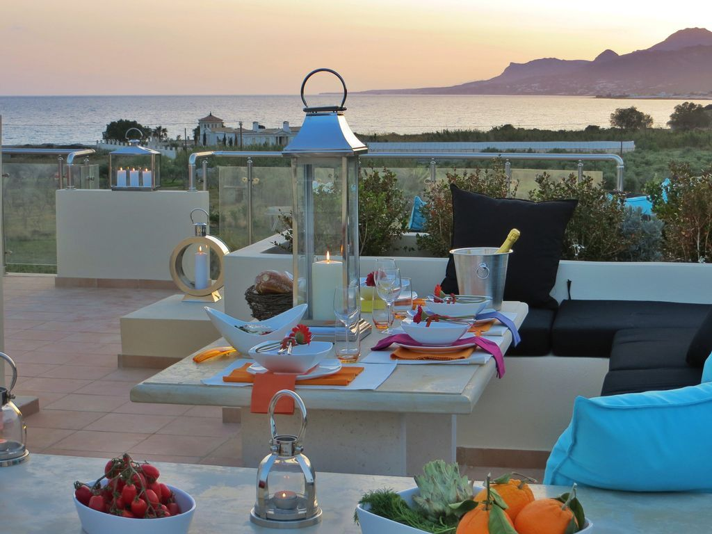 Apartamento en Crete con jardín