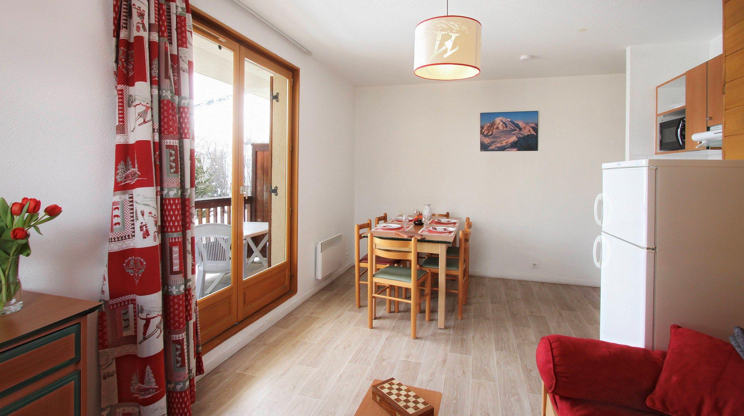 Odalys St Sorlin d'Arves 2p 3 Sybelles - Una Habitación Piso, Capacidad 3