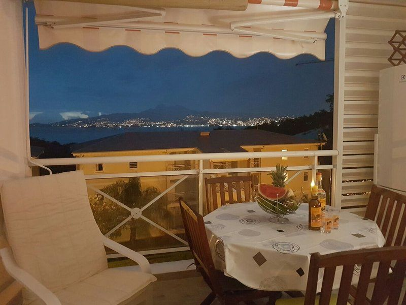 Apartment with balcony for 3 guests