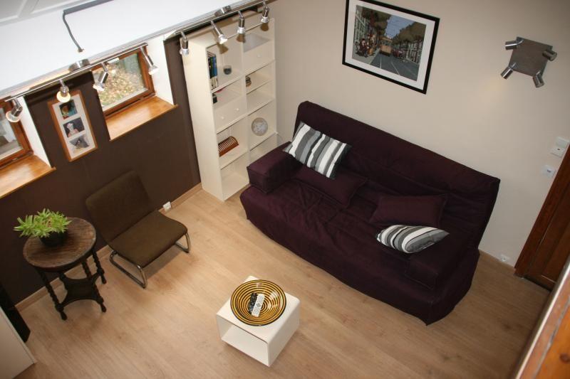 Apartamento agradable en Bruselas con Sábanas y toallas y Parking