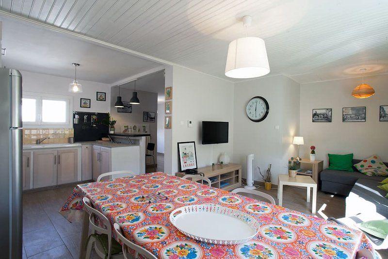 Popular casa para 6 huéspedes