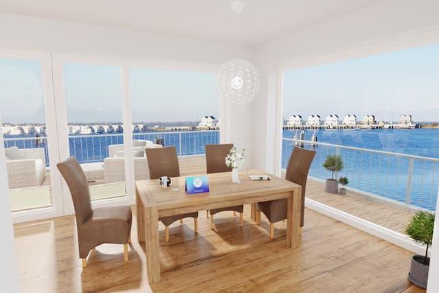 Alojamiento para 5 personas con balcón