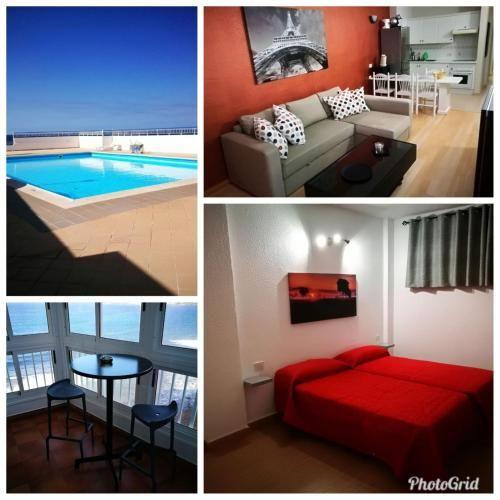 Apartamento de 1 habitación en Bajamar