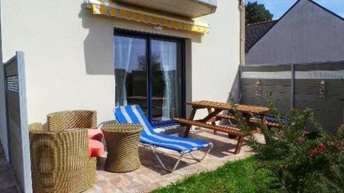 Logement avec balcon à Groix