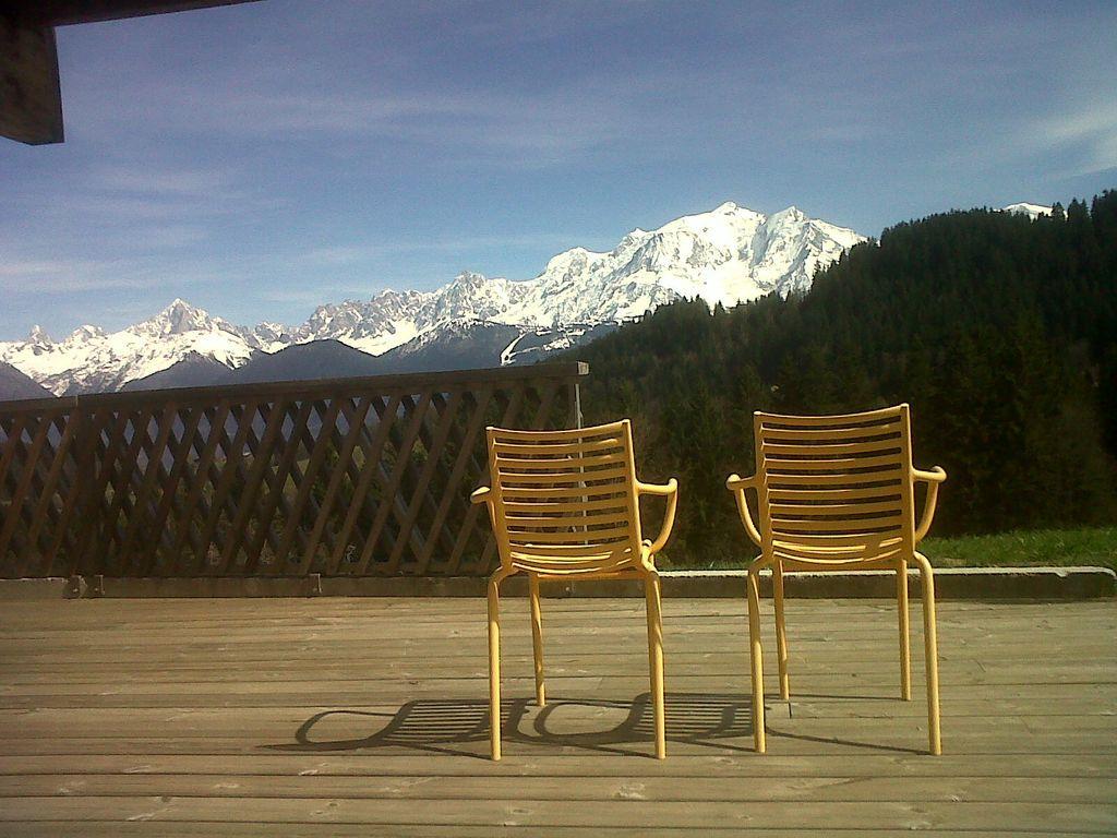 Chalet Cordon / Combloux / Megève, impresionantes vistas al Mont Blanc