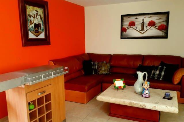 Alojamiento en San luis potosi de 2 habitaciones