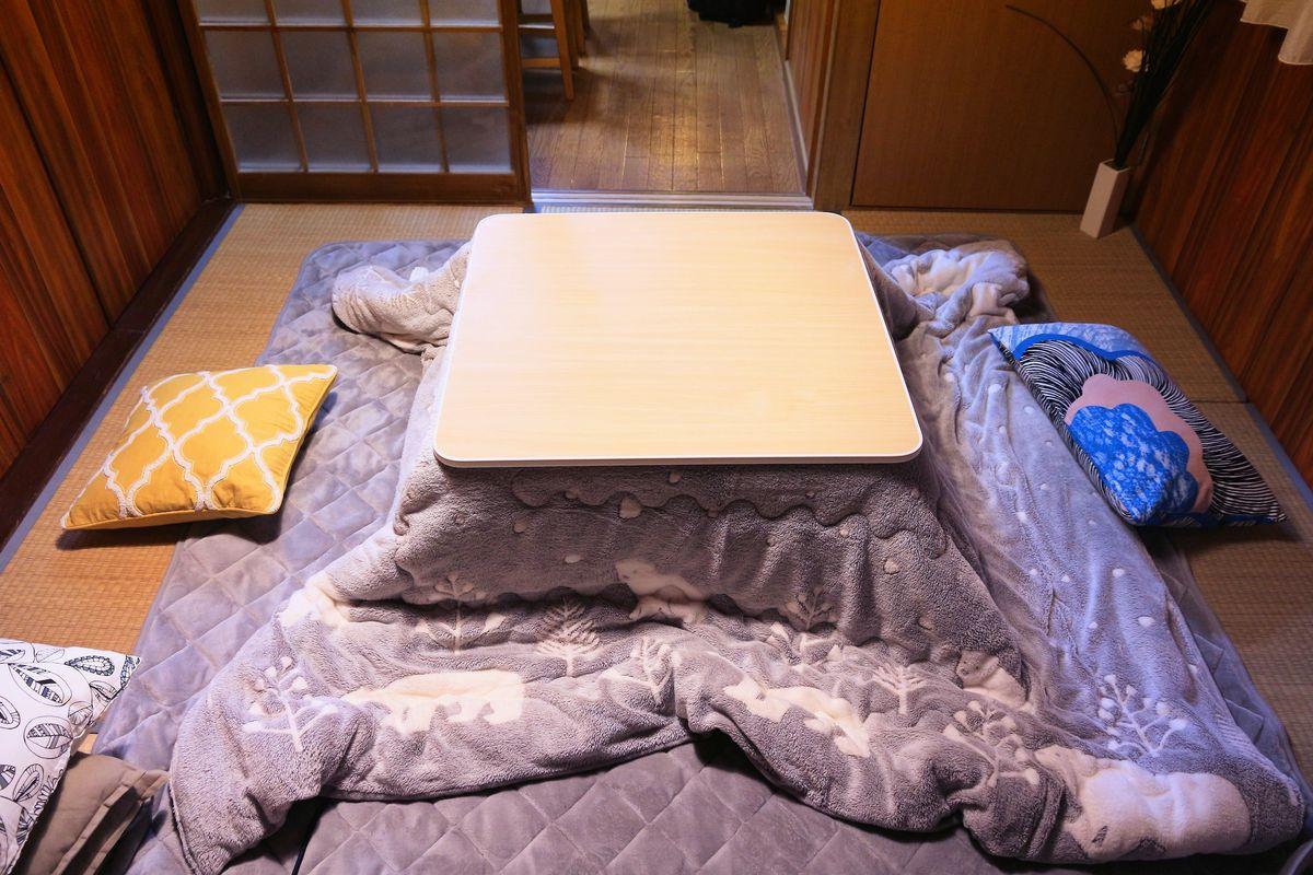 kotatsu, moyen de chauffage japonais