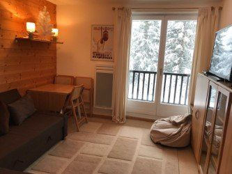 Ski apartment in Flaine, France, sleeps 2-4 person