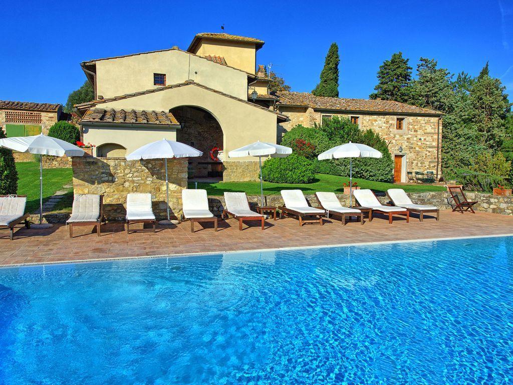 Apartamento con piscina en San casciano in val di pesa