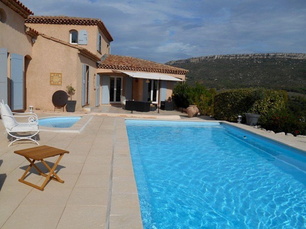 AIX magnífica casa-piscina-8 personas