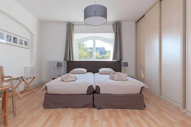 Équipé hébergement avec 2 chambres