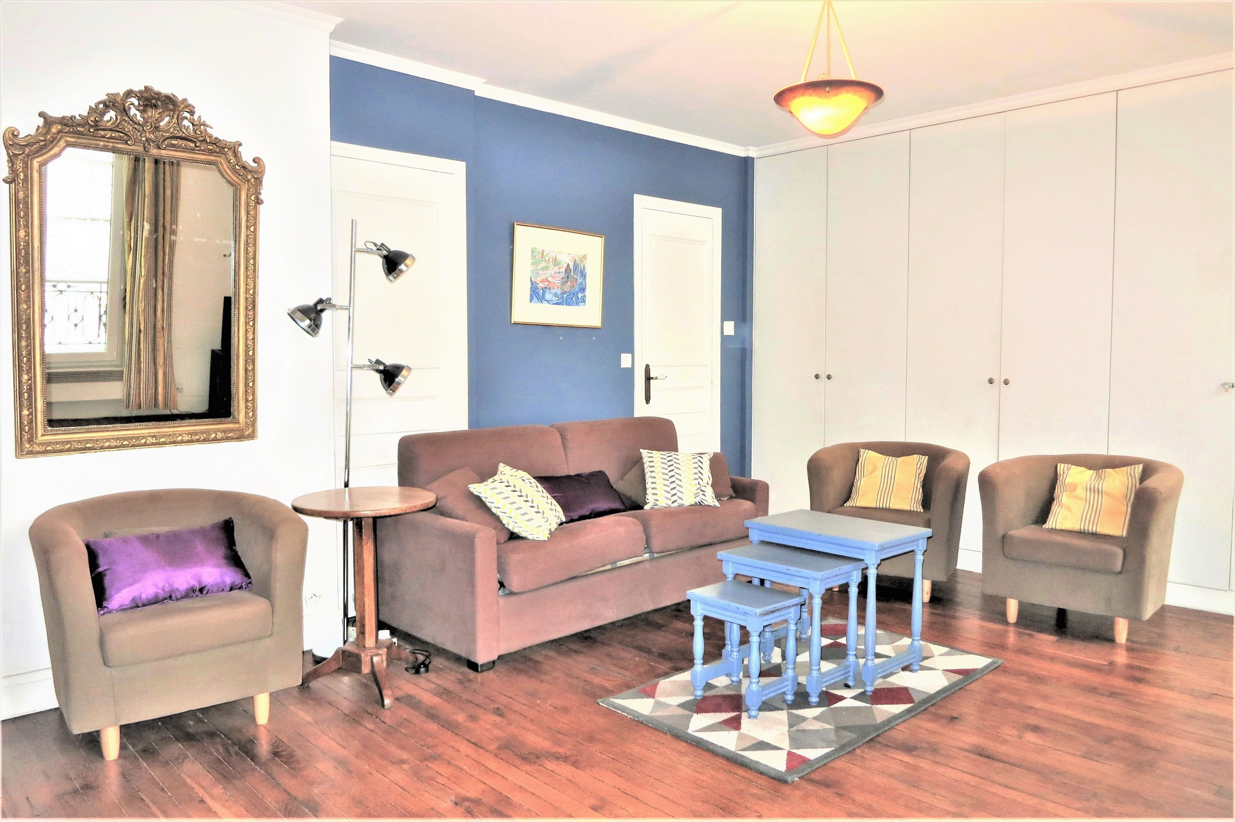 Apartamento en Paris de 1 habitación