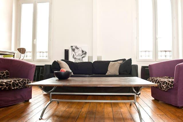 Amplias 2 habitaciones 8 minutos de París