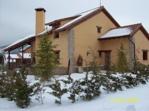 Casa en Alcalá de la selva para 4 huéspedes