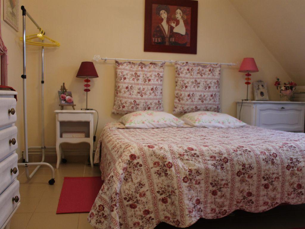 Ferienunterkunft in Camiers mit 2 Zimmern