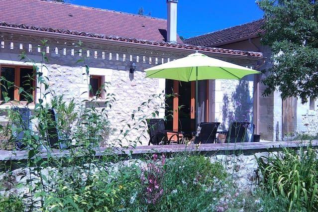 The Chai at Le Clos du Verger, Bergerac,