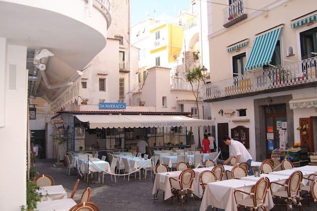 Provisto alojamiento en Amalfi