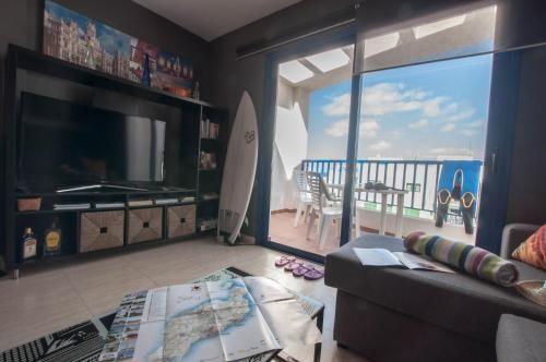 Estupenda vivienda de 1 habitación