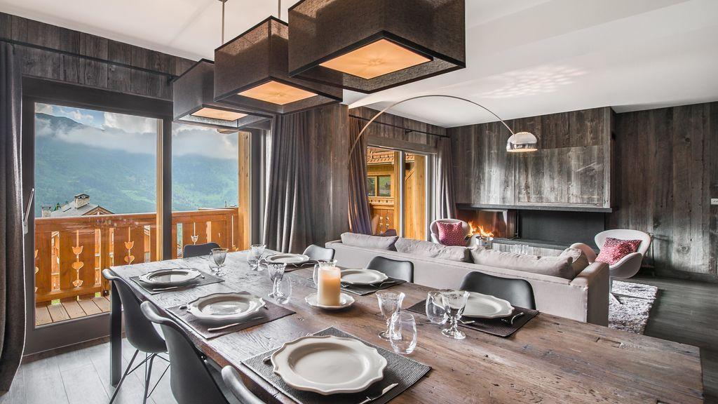 Häusliche Chalet für 8 Gäste