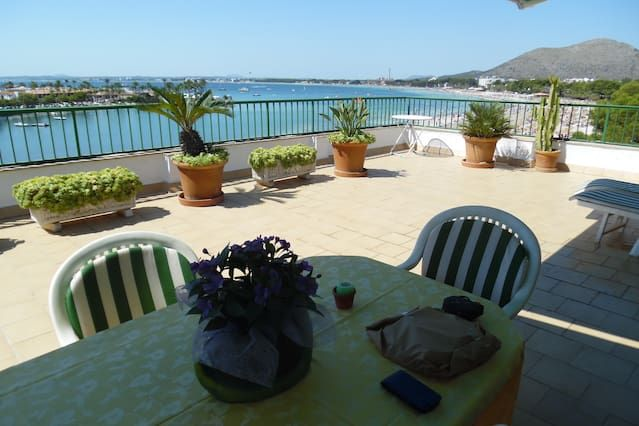 Property for 3 guests with balcony