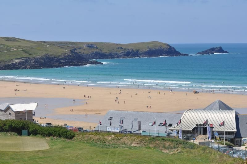 Property panoramic in Fistral beach