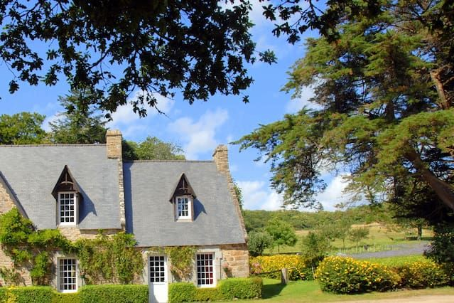Residencia en Moëlan-sur-mer con jardín