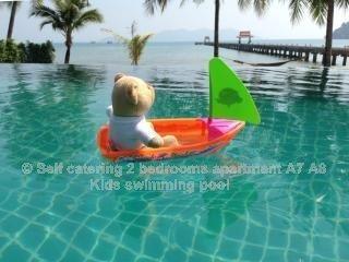 appartement ****120 m² vue mer île de Koh Chang Thaïlande