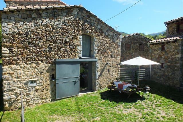 Panorámica casa en Pardines