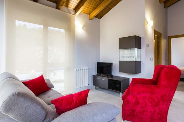 Family holiday rental with 4 rooms