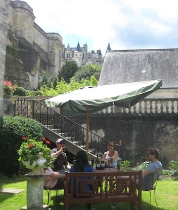 Studio Romantique Vue Château Wifi