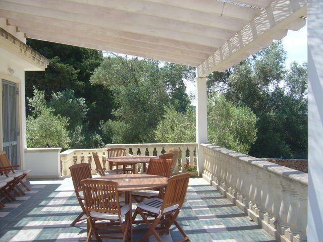 Residencia con jardín en Gallipoli