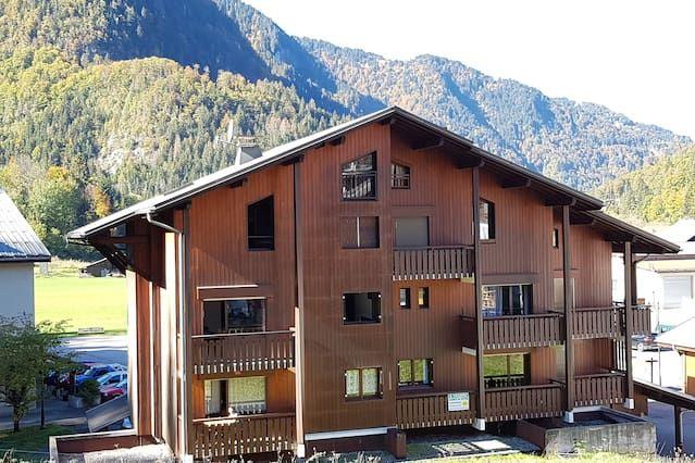Alojamiento de 2 habitaciones en Sixt-fer-à-cheval