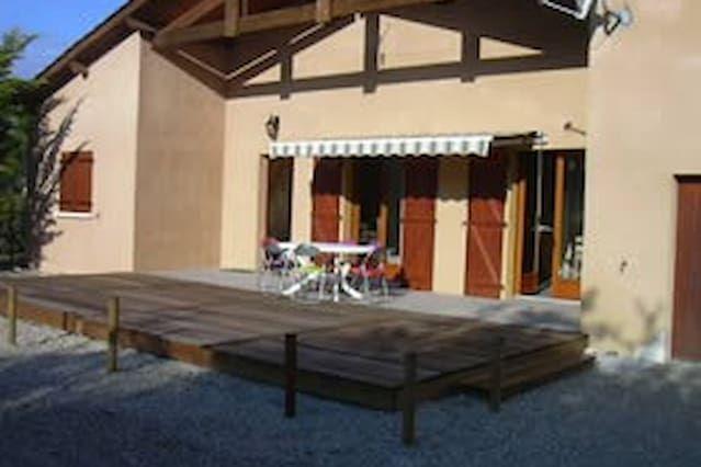 Casa con parking incluído en  vendays montalivet